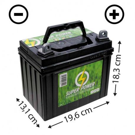 Batteries de tondeuses adaptables sur les grandes marques