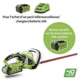 Taille-haies à batterie